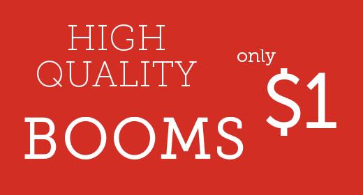 Premium Booms