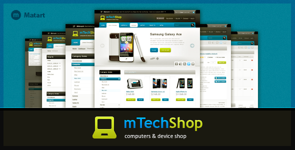 mTechShop - Technology Site Templates
