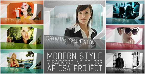 After Effects Project - VideoHive Modern Style 181029