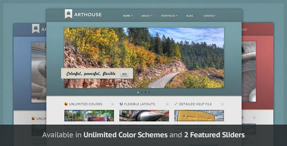 ThemeForest Arthouse Premium Business & Portfolio Template 180253
