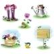 Garden Objects Set