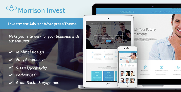 Investments, Business & Financial Advisor WP Theme