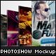 Round Square Photoshow Mock-up - GraphicRiver Item for Sale
