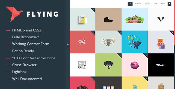 Image of Flying - Interactive Drupal Portfolio