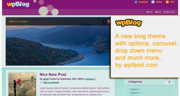 wpBLog - A promo image