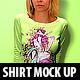 Female Shirt Mock Up