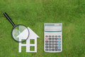 buy green building house Mortgage calculations,  calculator with