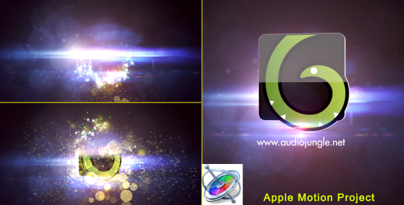 Download Particles Quick Logo - Apple Motion nulled download