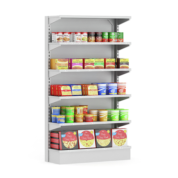 Market Shelf – Instant Foods - 3DOcean Item for Sale
