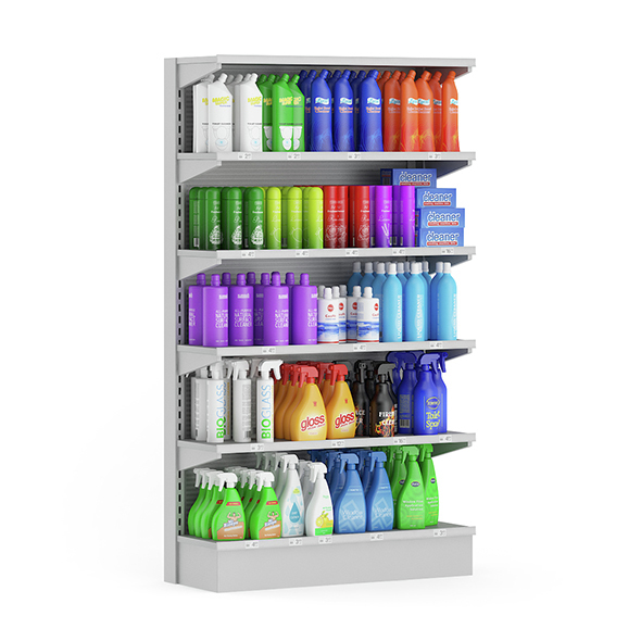 Market Shelf – Cleaning Products - 3DOcean Item for Sale