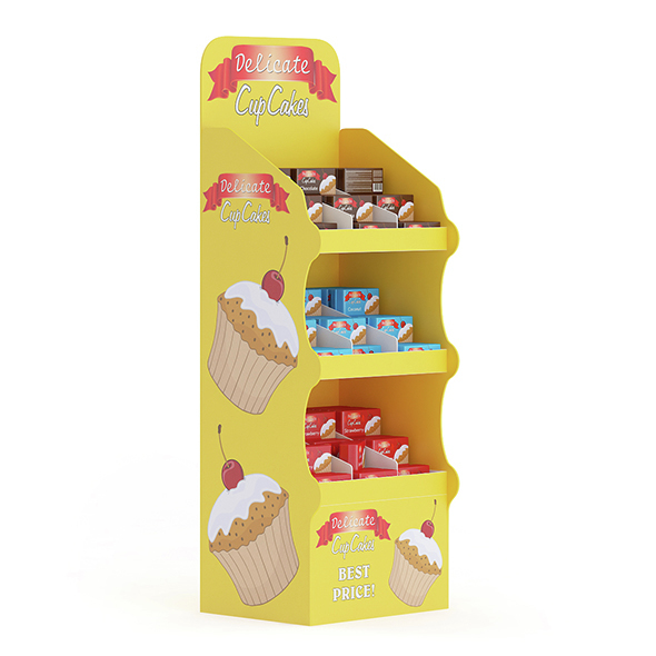 3DOcean Market Shelf Cupcakes 15352813