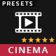 Pro Hollywood Cinema Lightroom Presets