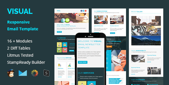 Visual - Multipurpose Responsive Email Template