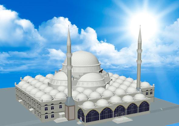 3DOcean Mosque 15360933