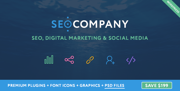 Download Seo Company - Digital Marketing & Social Media WordPress Theme nulled download