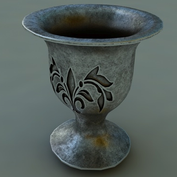 old cup - 3DOcean Item for Sale