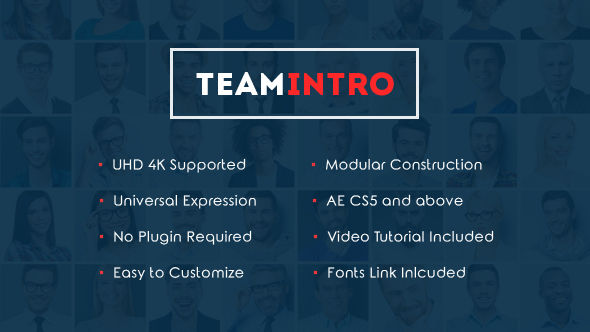 Download Team Intro – A Business Video for The Business Team Introduction nulled download