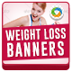 HTML5 Weight loss Banners - GWD - 7 Sizes