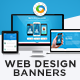 HTML5 Agency Banners - GWD - 7 Sizes
