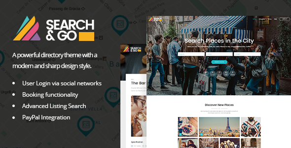 28 - Search & Go - Modern & Smart Directory Theme
