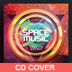 Space Music - CD Template