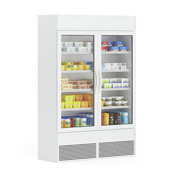 Market Refrigerator - 3DOcean Item for Sale