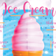 Ice Cream Menu Poster IV