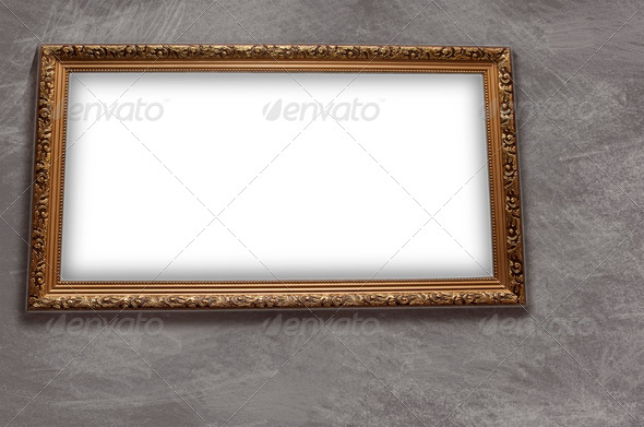 Frame with emty blank - Stock Photo - Images