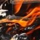 Burning Wooden Beams