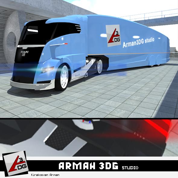 MAN Concept S 2012 - 3DOcean Item for Sale