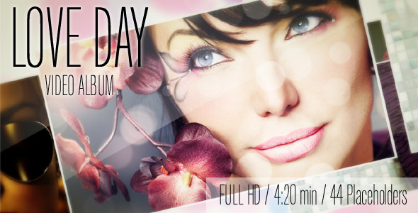 After Effects Project - VideoHive Love Day Album 1535392