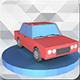 Low Poly Car Model 01