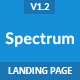 Spectrum - Responsive Landing Page Template