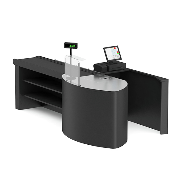 Cashier Desk - 3DOcean Item for Sale
