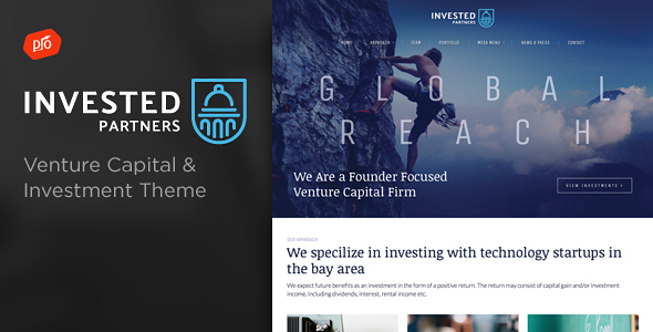 Download Invested - Venture Capital & Investment Theme