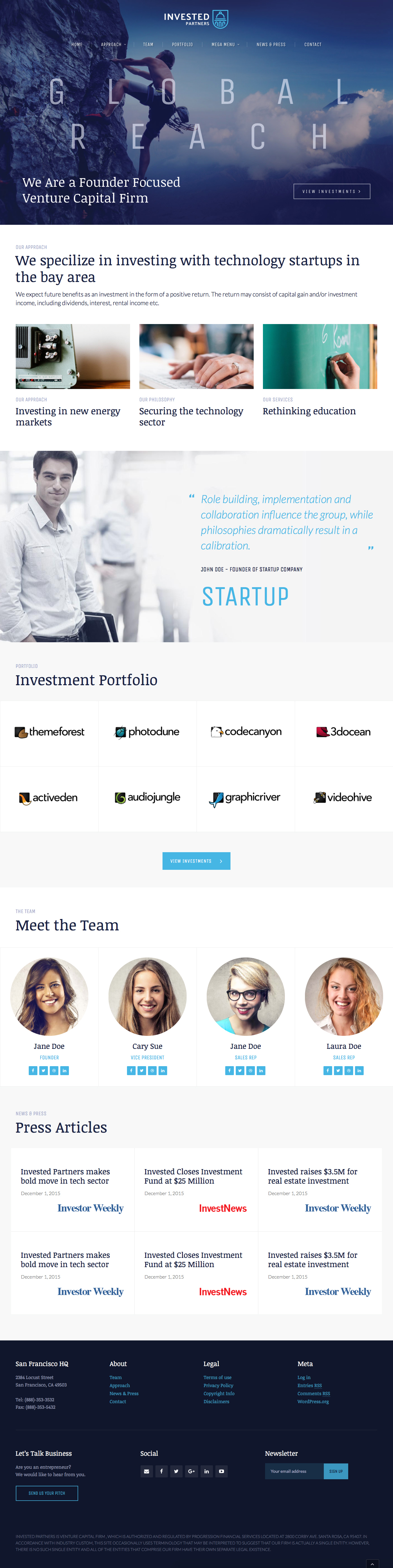 Google ventures theme - Invested Venture Capital Investment Theme