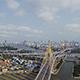 Aerial View of Bangkok and the Chao Phraya River 02