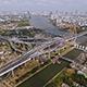 Aerial View of Bangkok and the Chao Phraya River 10