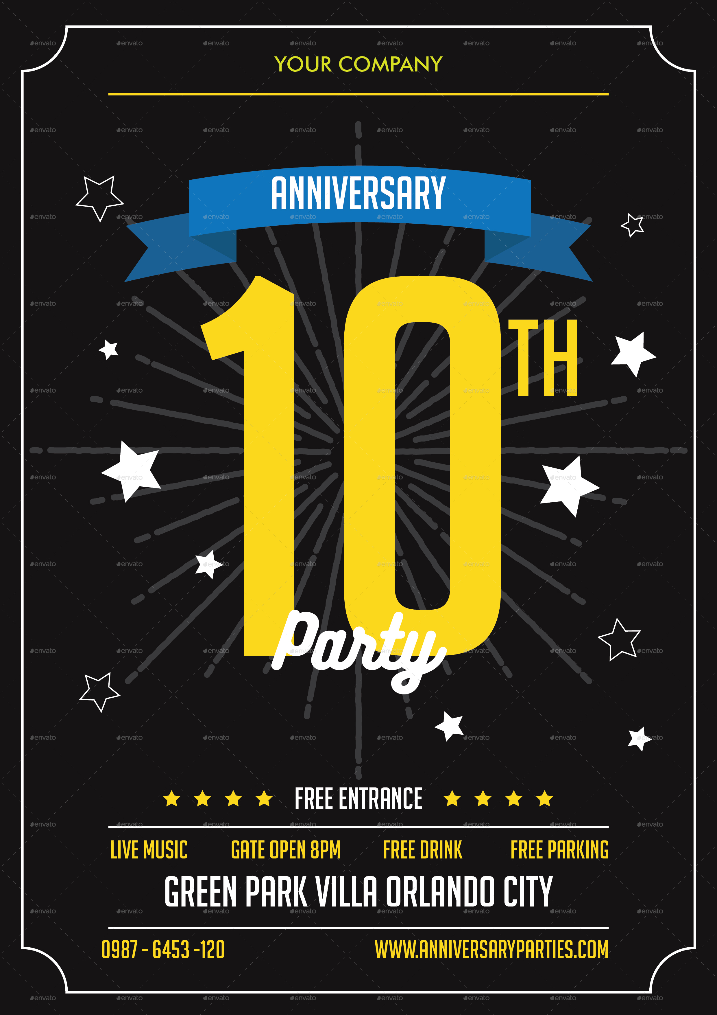 Church Anniversary Flyer.Church Celebration Flyer Template Preview1.  Related For 9+ Church Anniversary Flyer. 3+ Party Invitation. 8+ Party  Invites