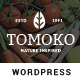 Organic Food/Fruit/Vegetables Responsive WordPress Theme - Tomoko