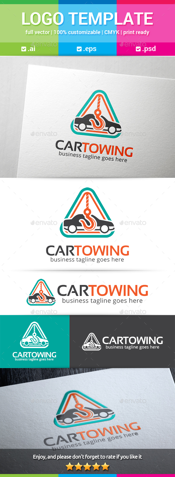 Car Towing Logo