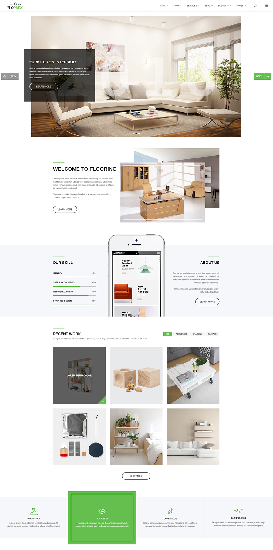 Flooring An Ideal Responsive Joomla Template For