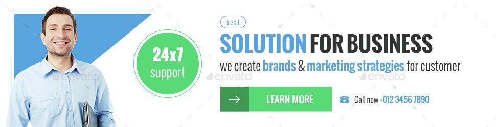 Business Marketing Web Banner Ads