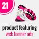 Minimal Product Sale Web Banner Ads