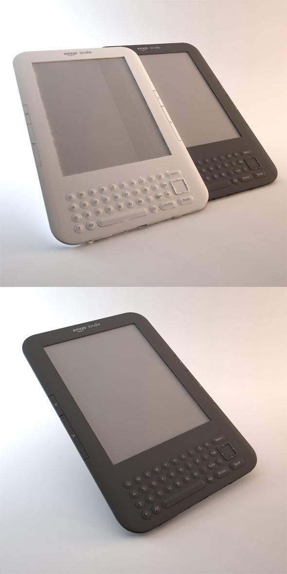 3DOcean Kindle Keyboard 3G 1538364