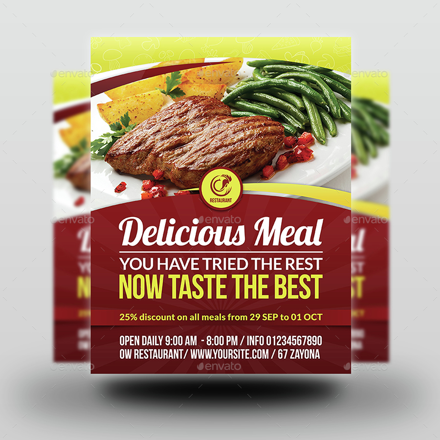 restaurant flyer template vol by owpictures graphicriver 01 restaurant flyer template jpg