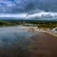 . Geysir Strokkur - The Second Largest And Most Active Geyser In Iceland Haukadalur Valley. Iceland