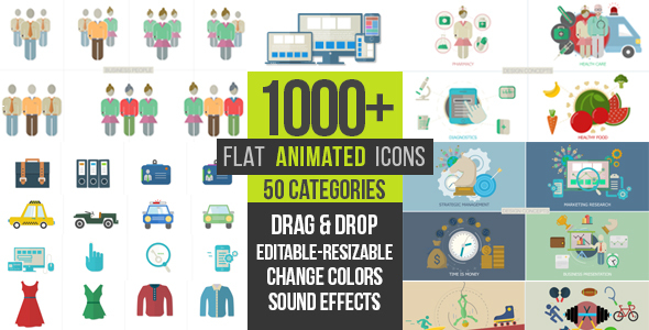 play preview video basic icons flat icons 1000