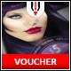Beauty Salon Voucher Card