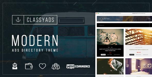 24 - ClassyAds - Modern Ads Directory WordPress Theme